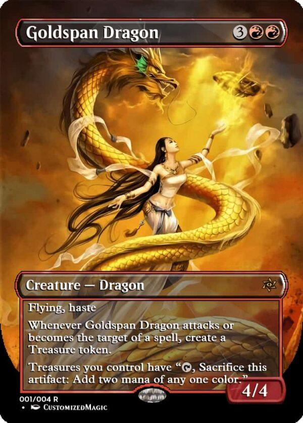 Goldspan Dragon - Magic the Gathering Proxy Cards