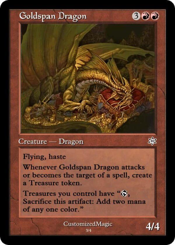 Goldspan Dragon.2 - Magic the Gathering Proxy Cards