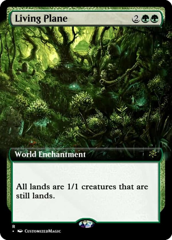 Living Plane.2 - Magic the Gathering Proxy Cards