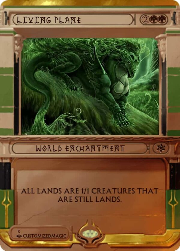 Living Plane.4 - Magic the Gathering Proxy Cards