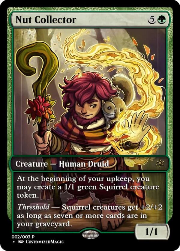Nut Collector.1 - Magic the Gathering Proxy Cards