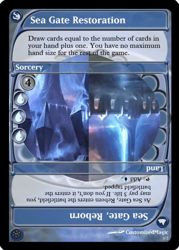 Sea Gate Restoration - Magic the Gathering Proxy Cards