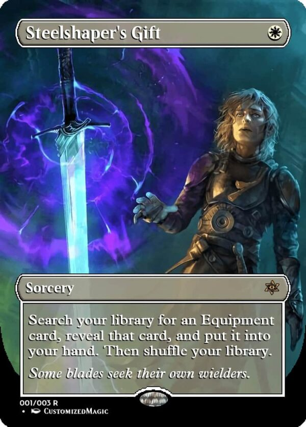 Steelshapers Gift - Magic the Gathering Proxy Cards