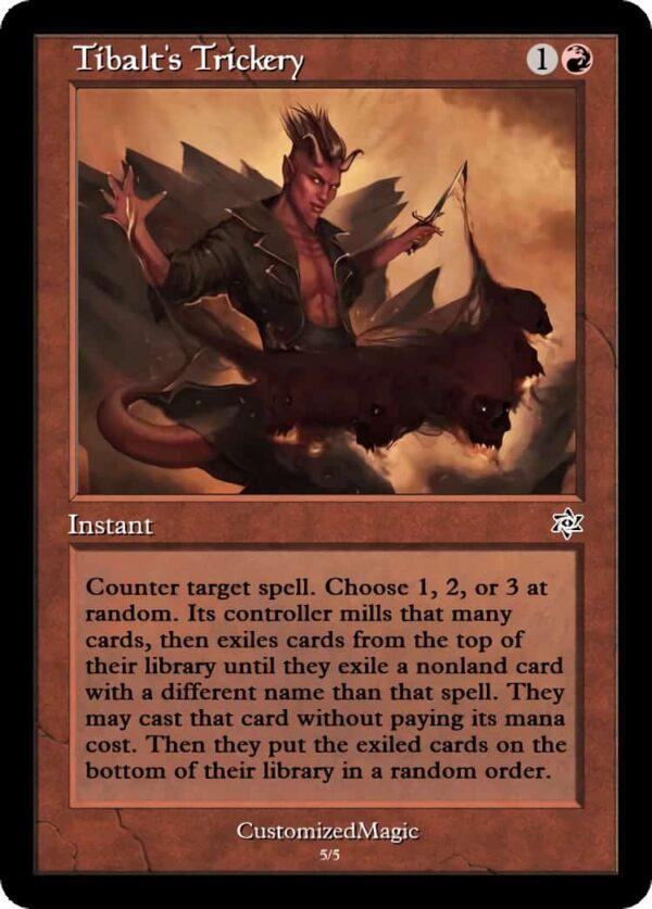 Tibalts Trickery.4 - Magic the Gathering Proxy Cards