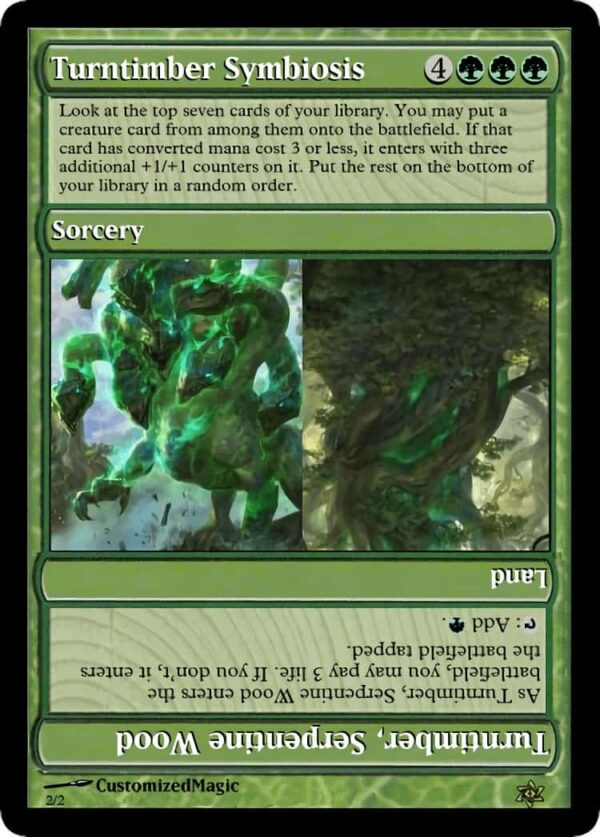 Turntimber Symbiosis.1 - Magic the Gathering Proxy Cards