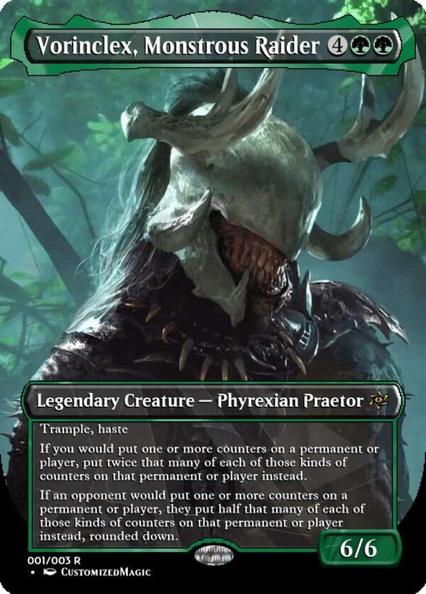 Vorinclex Monstrous Raider - Magic the Gathering Proxy Cards