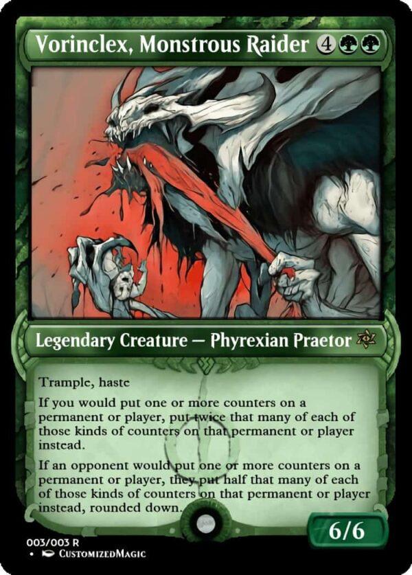 Vorinclex Monstrous Raider.2 - Magic the Gathering Proxy Cards