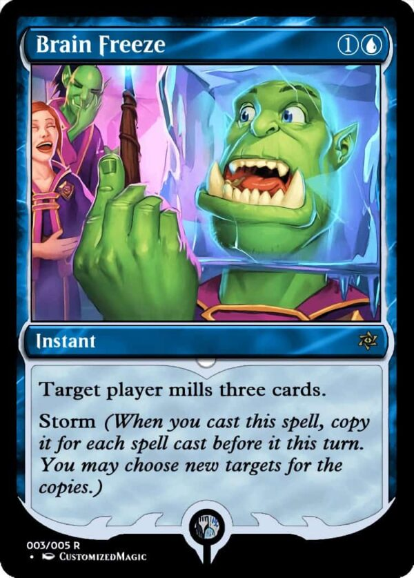 Brain Freeze.2 - Magic the Gathering Proxy Cards
