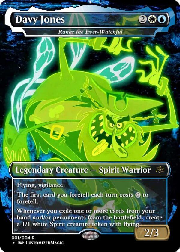 Davy Jones - Magic the Gathering Proxy Cards