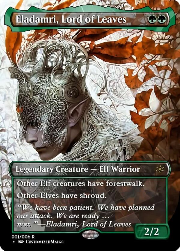 Eladamri Lord of Leaves - Magic the Gathering Proxy Cards