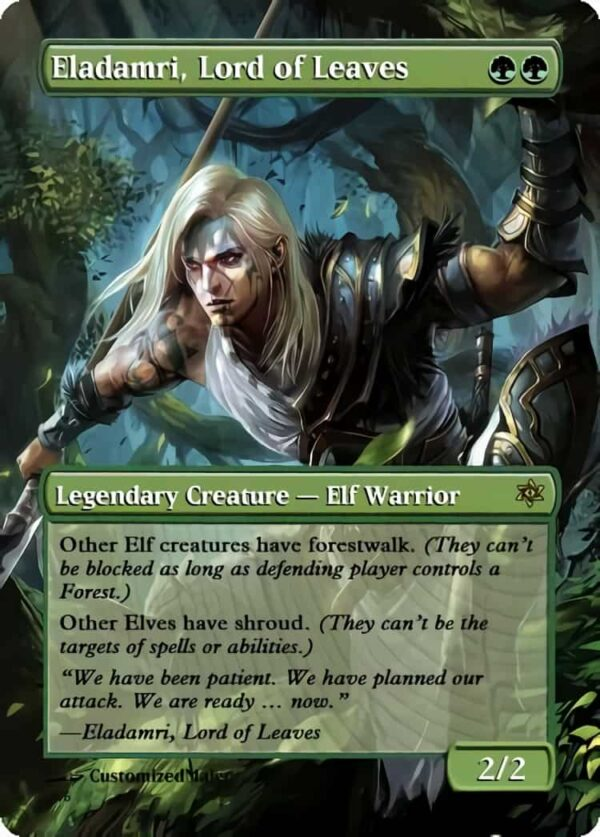 Eladamri Lord of Leaves.2 - Magic the Gathering Proxy Cards