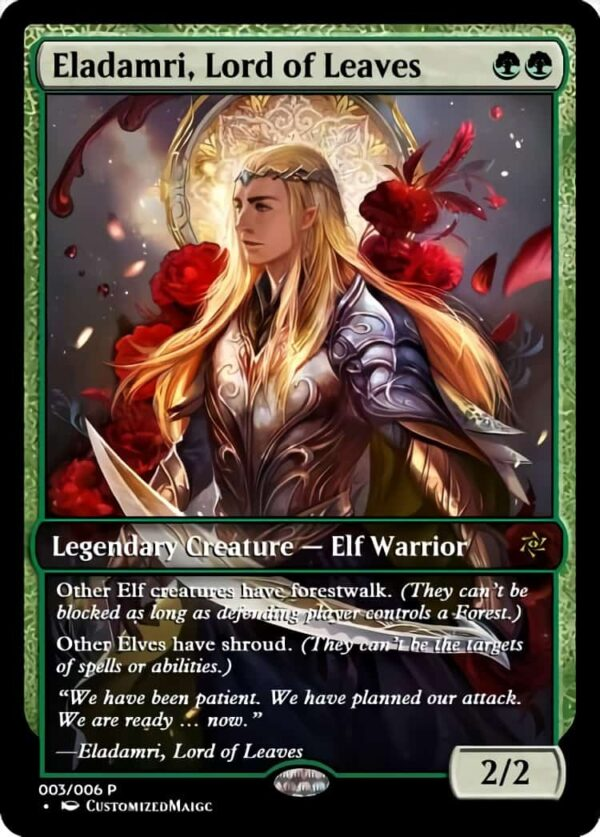 Eladamri Lord of Leaves.3 - Magic the Gathering Proxy Cards