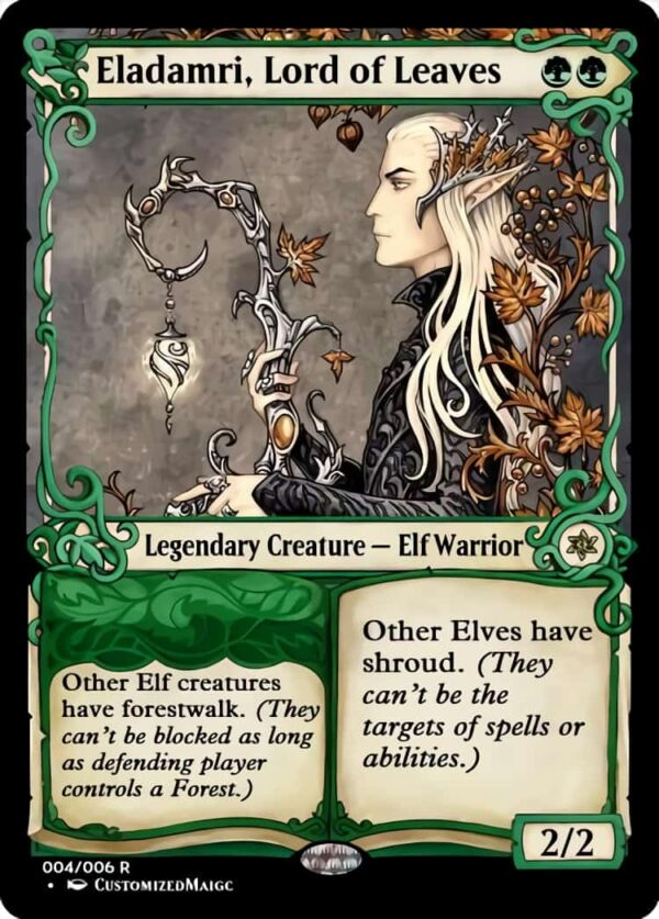 Eladamri Lord of Leaves.4 - Magic the Gathering Proxy Cards