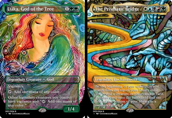 Esika, God of the Tree // The Prismatic Bridge