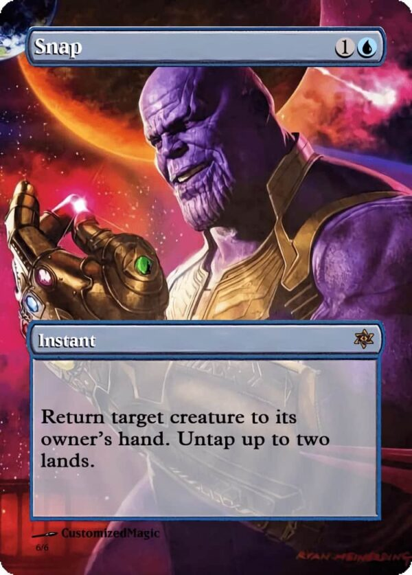 Snap - Magic the Gathering Proxy Cards