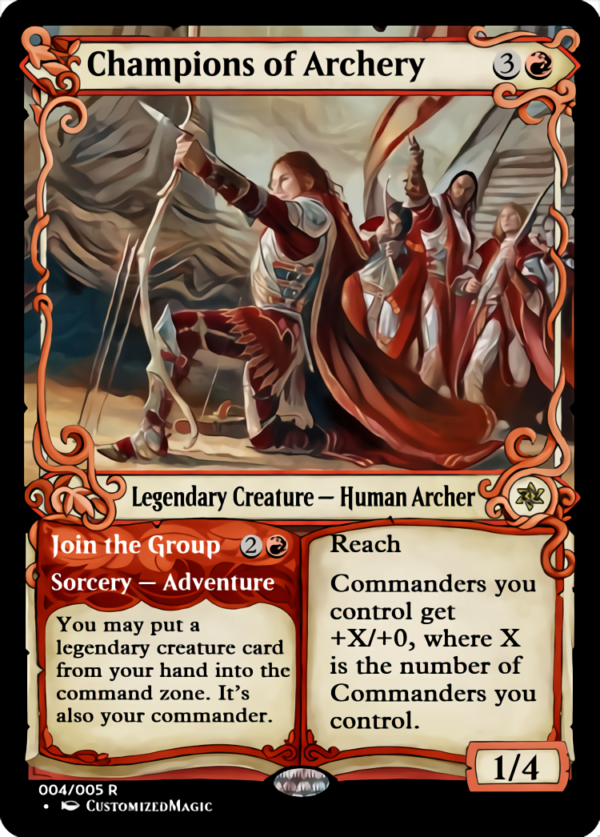 Champions of Archery - Magic the Gathering Proxy Cards