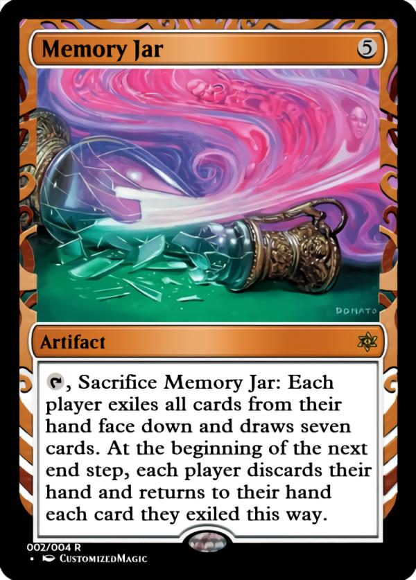 Memory Jar.2 - Magic the Gathering Proxy Cards