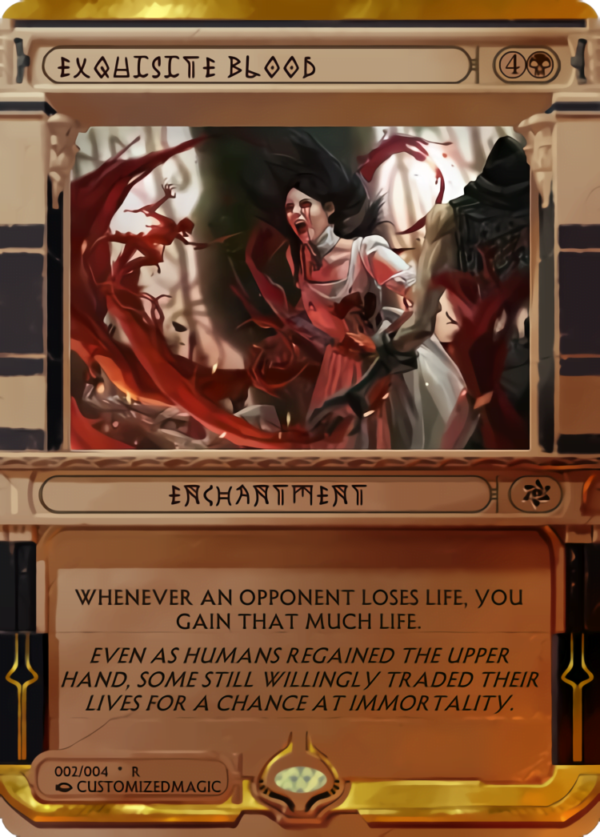 Exquisite Blood.1 - Magic the Gathering Proxy Cards
