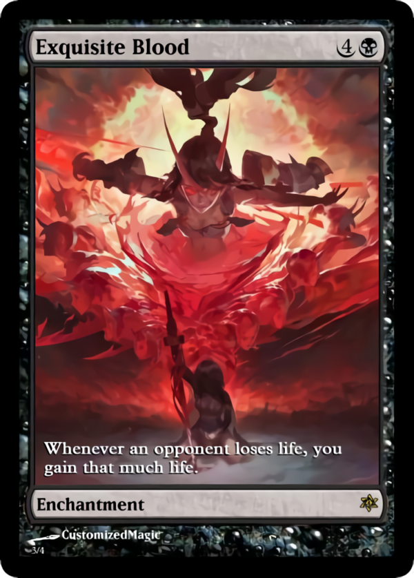 Exquisite Blood.2 - Magic the Gathering Proxy Cards
