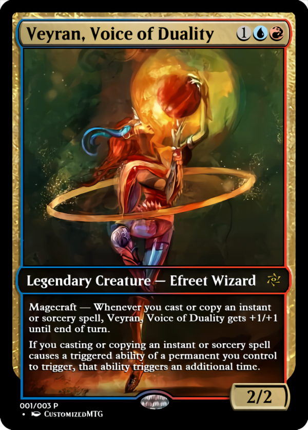 Veyran Voice of Duality - Magic the Gathering Proxy Cards