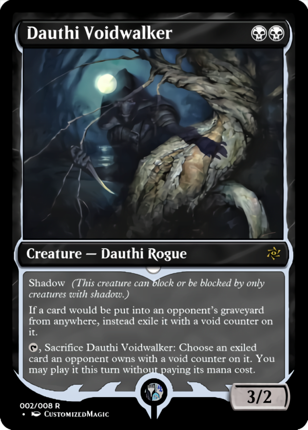 Dauthi Voidwalker.1 - Magic the Gathering Proxy Cards