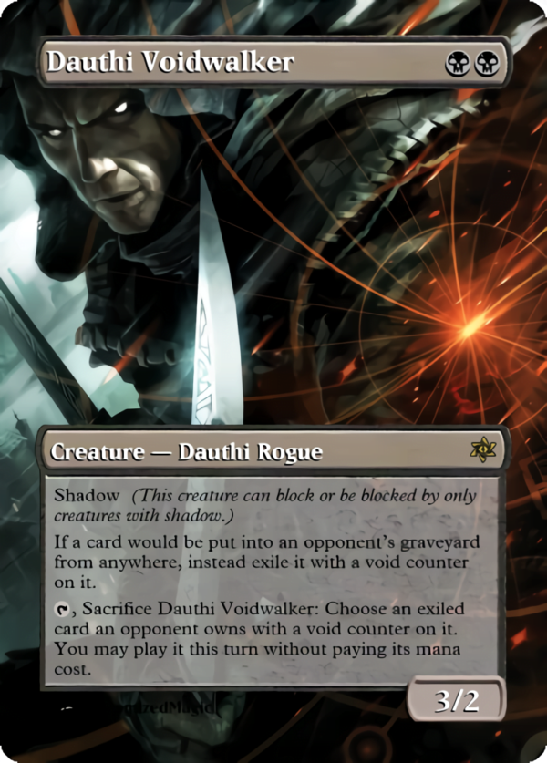 Dauthi Voidwalker.6 - Magic the Gathering Proxy Cards