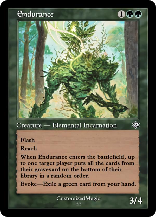 Endurance - Magic the Gathering Proxy Cards