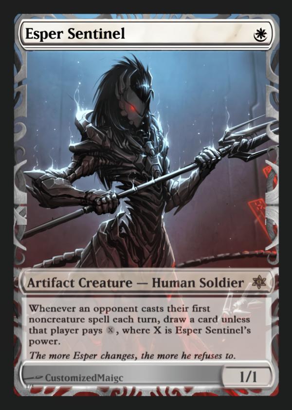 Esper Sentinel - Magic the Gathering Proxy Cards