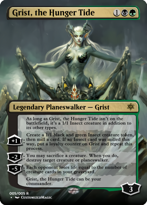 Grist the Hunger Tide.4 - Magic the Gathering Proxy Cards
