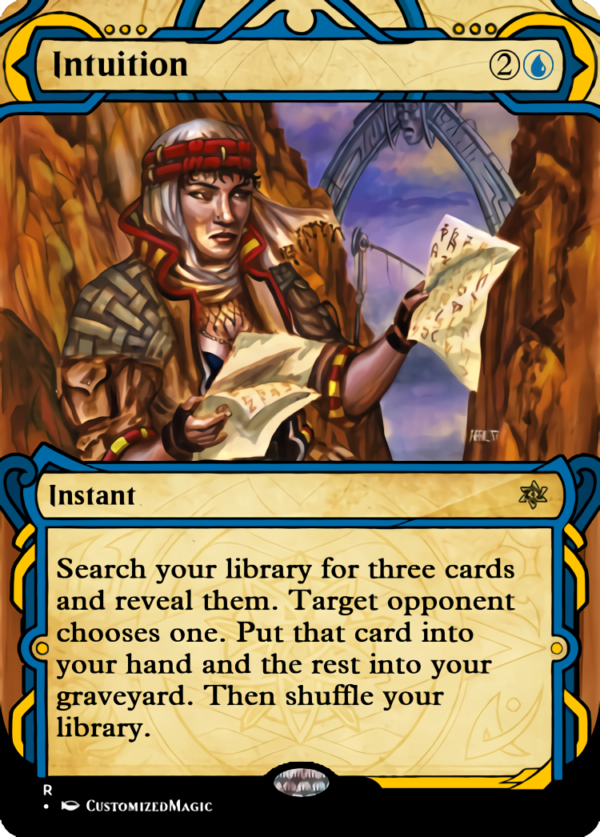 Intuition - Magic the Gathering Proxy Cards