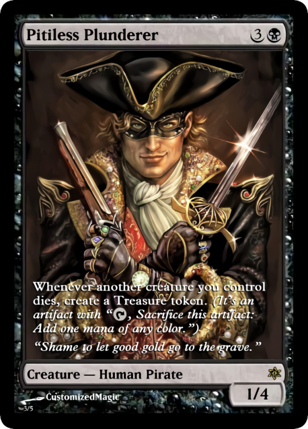 Pitiless Plunderer.3 - Magic the Gathering Proxy Cards