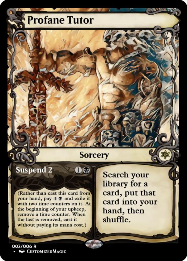 Profane Tutor.2 - Magic the Gathering Proxy Cards