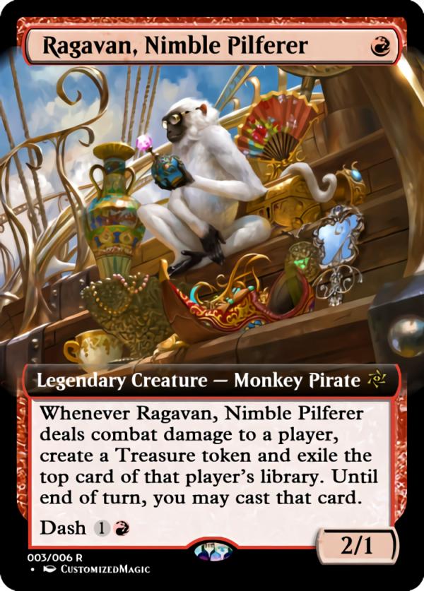 Ragavan Nimble Pilferer .2 - Magic the Gathering Proxy Cards