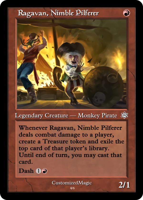 Ragavan Nimble Pilferer .3 - Magic the Gathering Proxy Cards