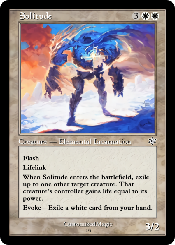 Solitude - Magic the Gathering Proxy Cards