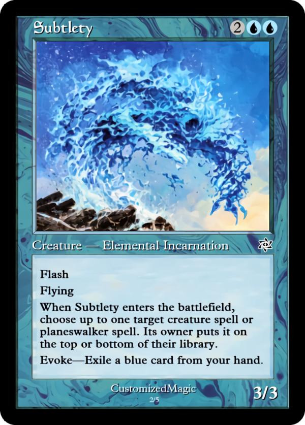 Subtlety - Magic the Gathering Proxy Cards