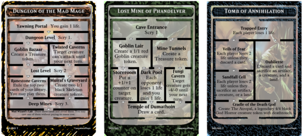 Dungeon Tokens
