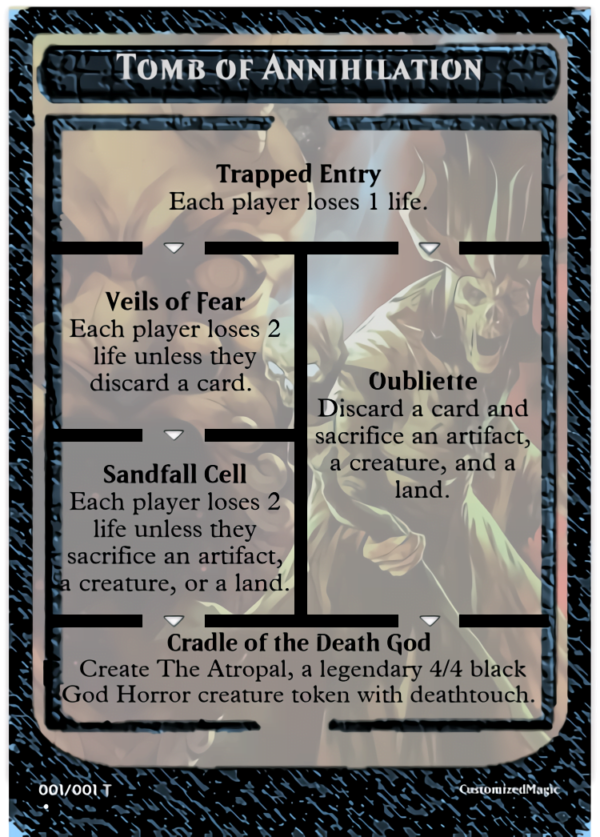 Tomb of Annihilation - Magic the Gathering Proxy Cards