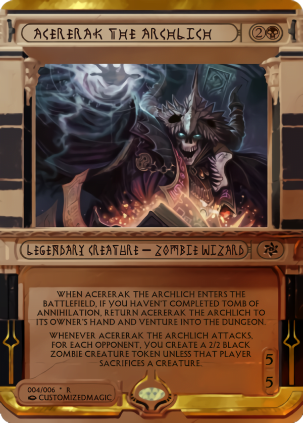 Acererak the Archlich.3 - Magic the Gathering Proxy Cards