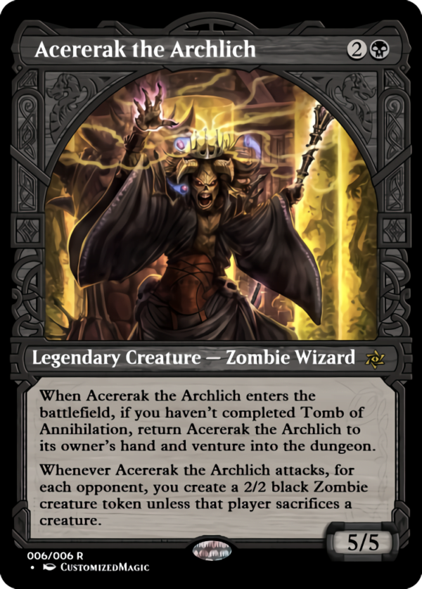 Acererak the Archlich.5 - Magic the Gathering Proxy Cards