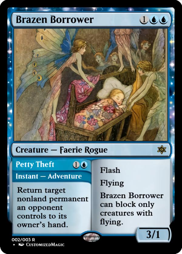 Brazen Borrower.1 - Magic the Gathering Proxy Cards