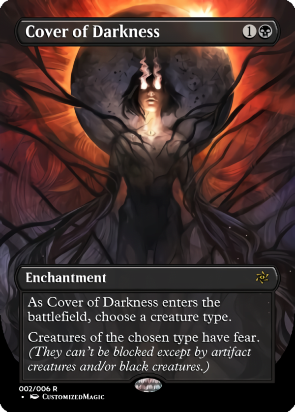 Cover of Darkness .1 - Magic the Gathering Proxy Cards