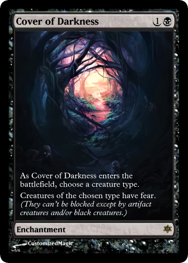 Cover of Darkness .4 - Magic the Gathering Proxy Cards