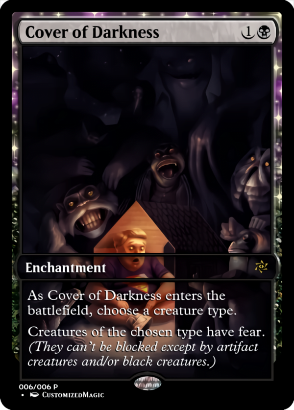 Cover of Darkness .5 - Magic the Gathering Proxy Cards