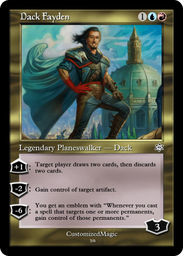 Dack Fayden - Magic the Gathering Proxy Cards