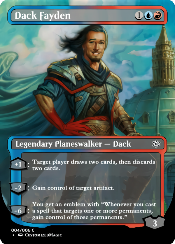 Dack Fayden.1 - Magic the Gathering Proxy Cards