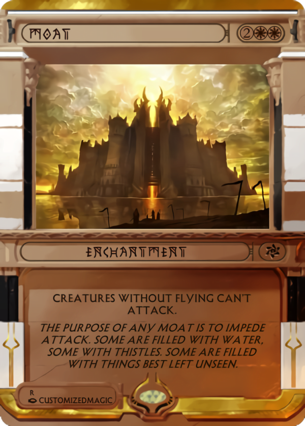 Moat - Magic the Gathering Proxy Cards