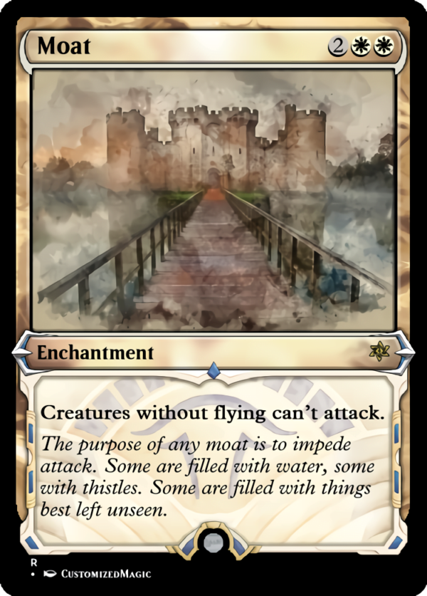 Moat.1 - Magic the Gathering Proxy Cards