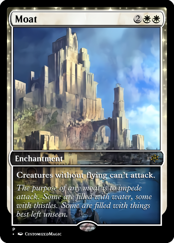 Moat.4 - Magic the Gathering Proxy Cards