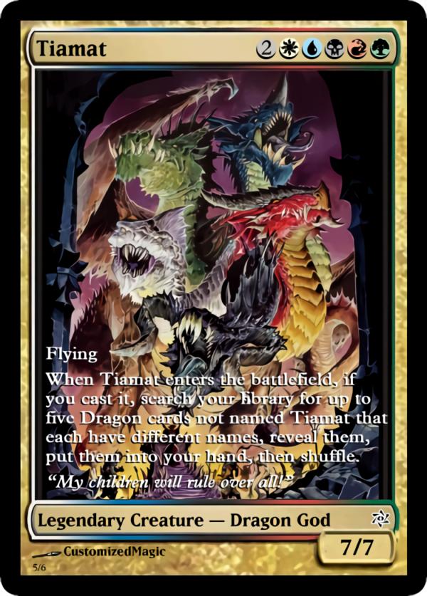 Tiamat.4 - Magic the Gathering Proxy Cards